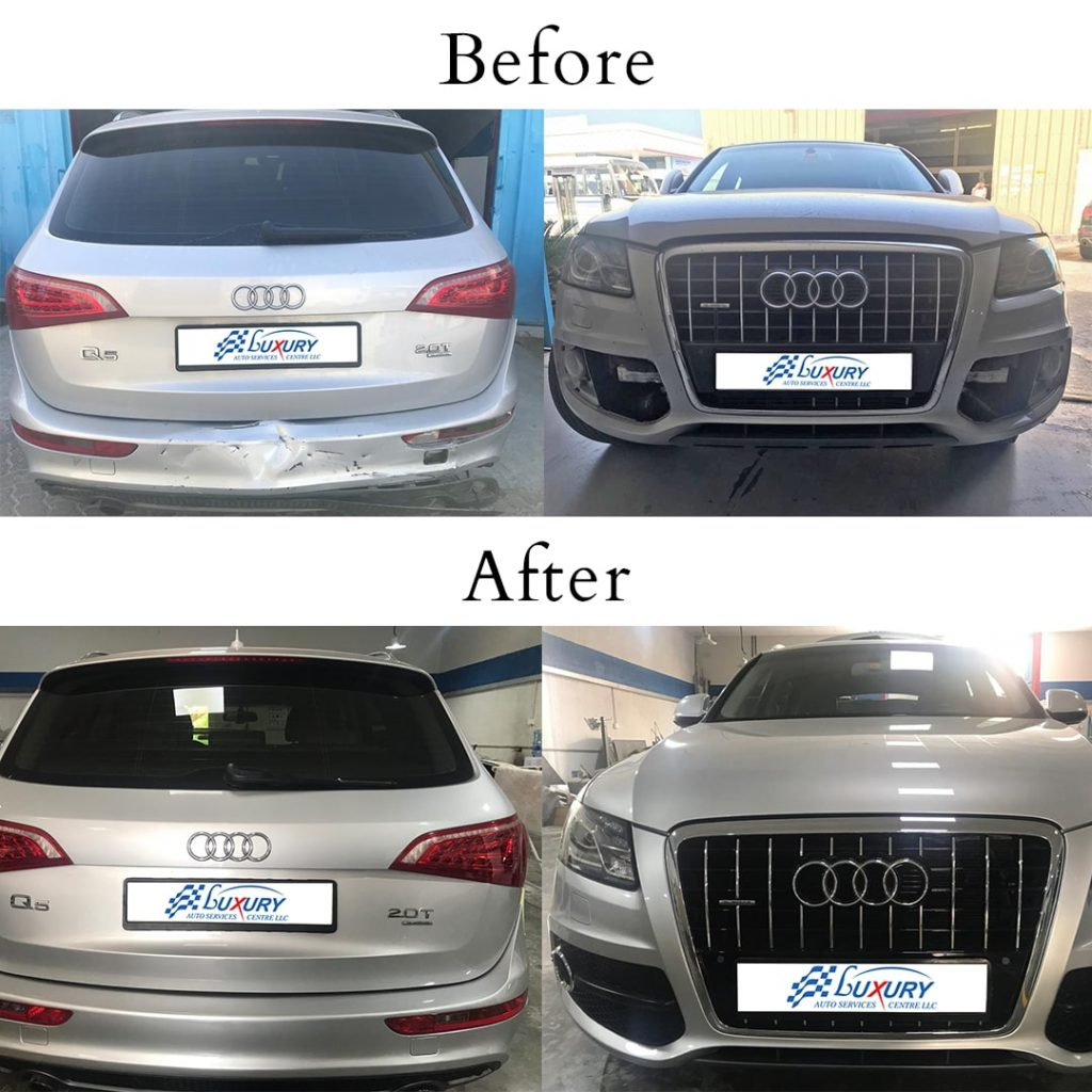 instagram audi q5 accident repair