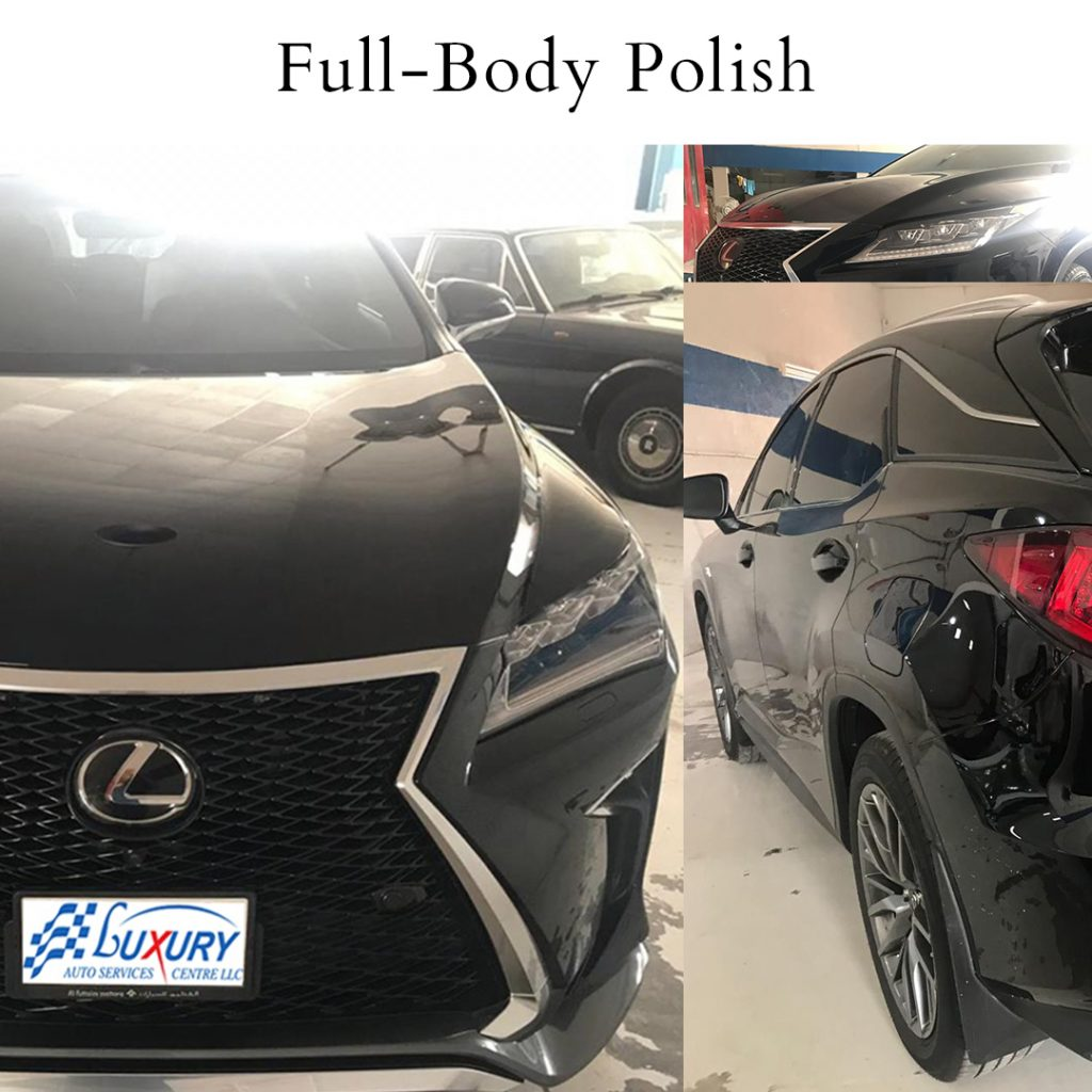 LEXUS RX 350 full body polish instagram post